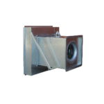 WCE-S Series Square Centrifugal Wall Mount
